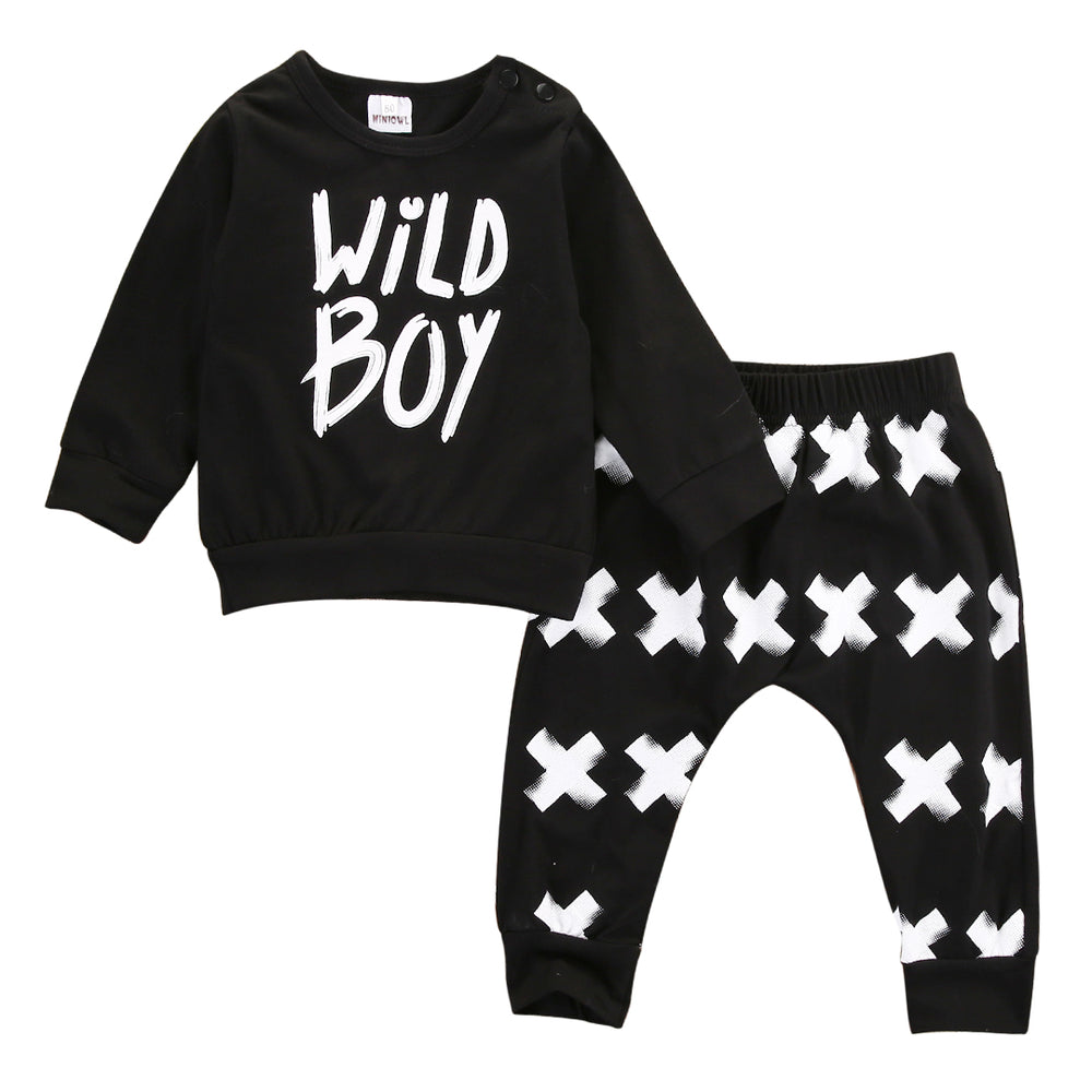 "2Pcs ""Wild Boy"" Set for Baby Boy"