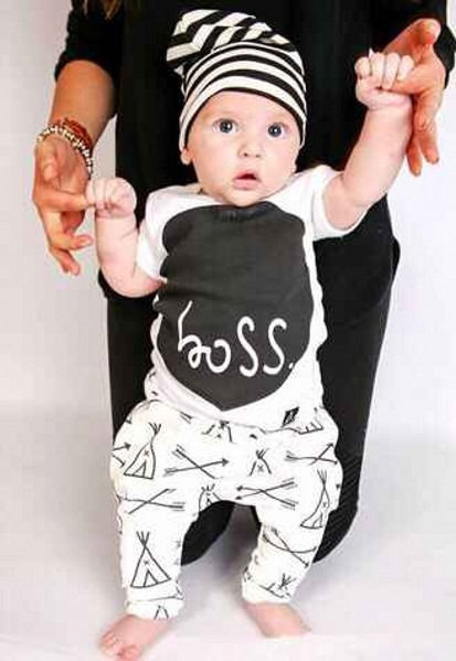 Baby Boy 2 Pieces Boss Set