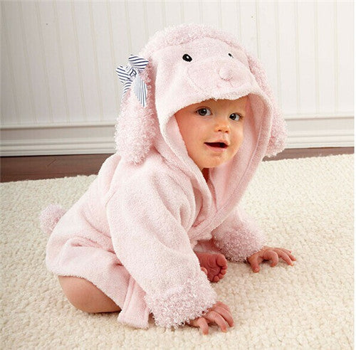 Animal Baby Bathrobe