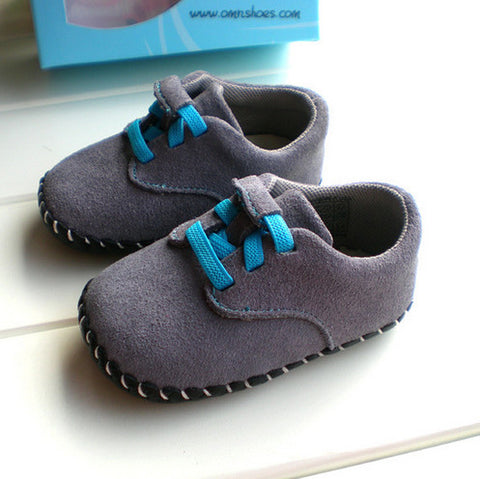 Genuine Leather Pre-walker Shoes for Baby Boy or Girl