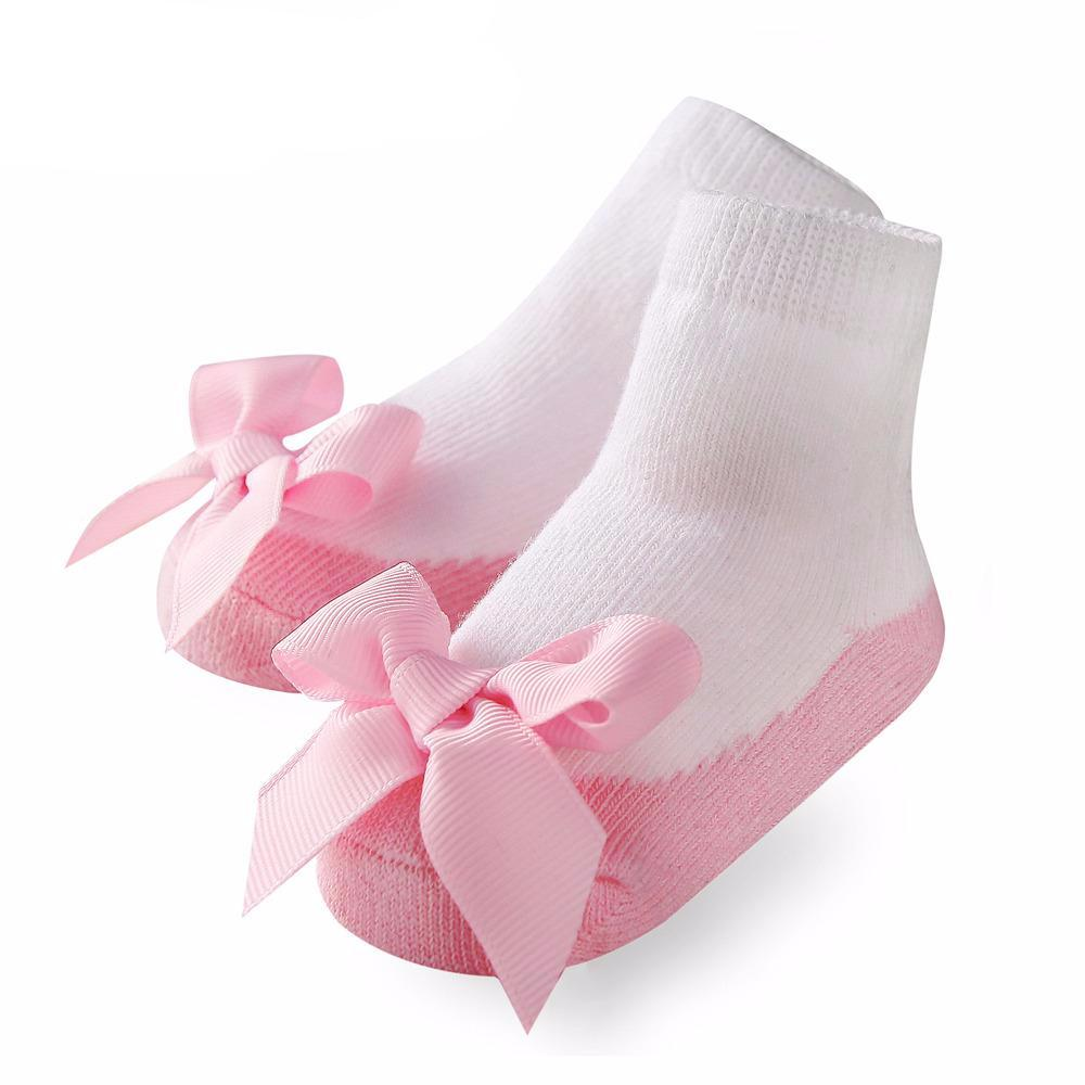 Socks with Bow