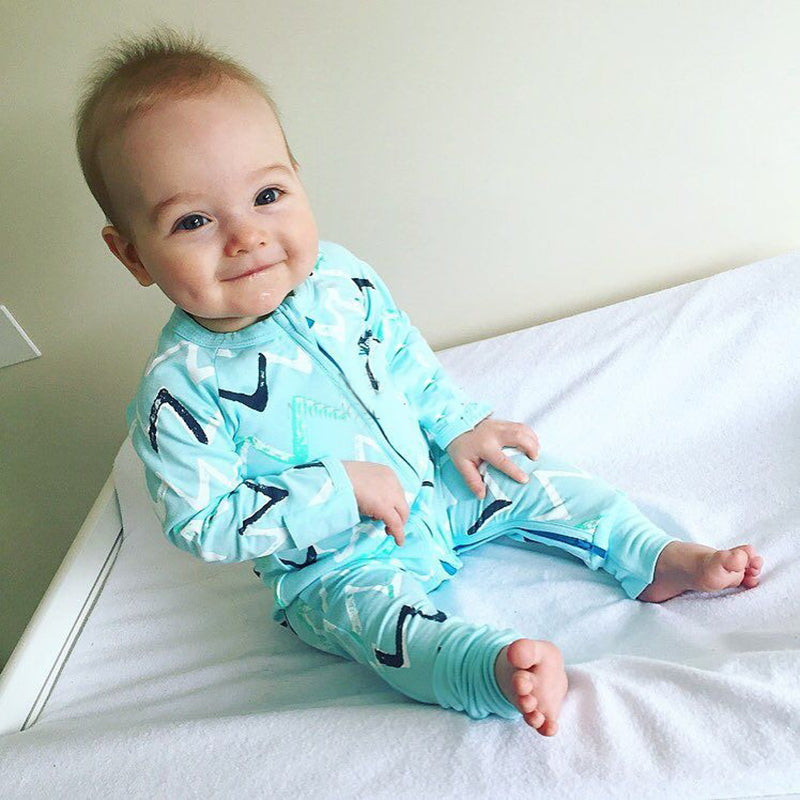 Colored Jumpsuit with zipper for Baby Boy