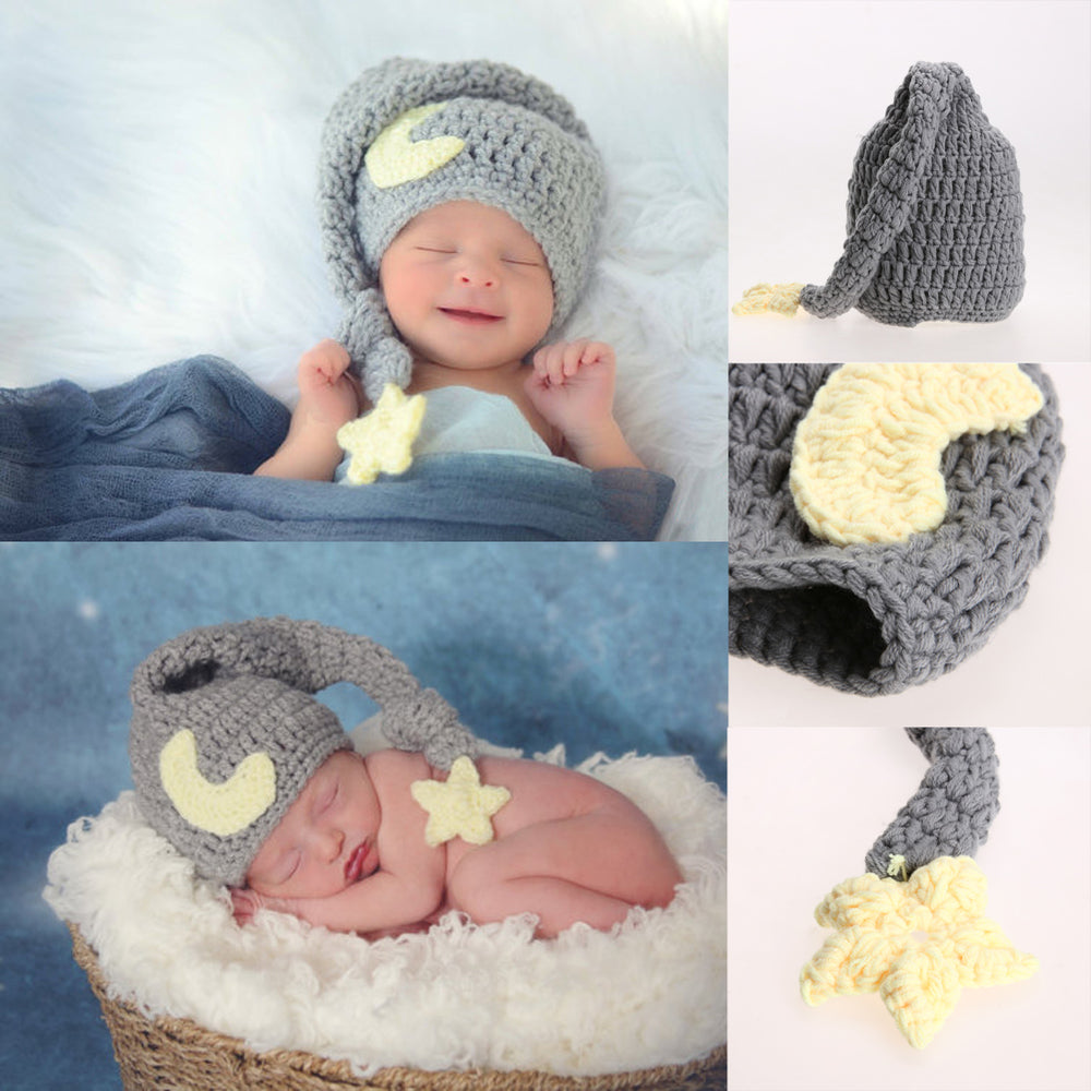 Newborn Knitted Soft Hat - Props for Photoshoots