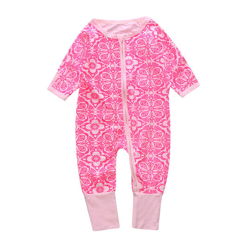 Adorable Patterns Jumpsuit for Baby Girl