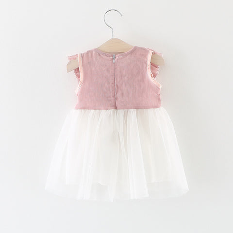 Cotton&Lace Summer Dress for Girl