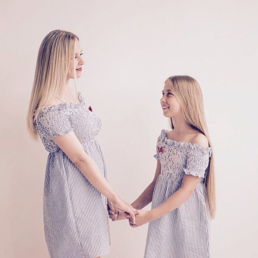Sweet Matching Summer Dress for Mother & Daughter