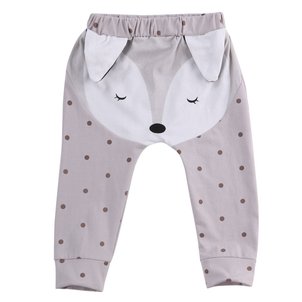 Animal Pants for Baby Girl