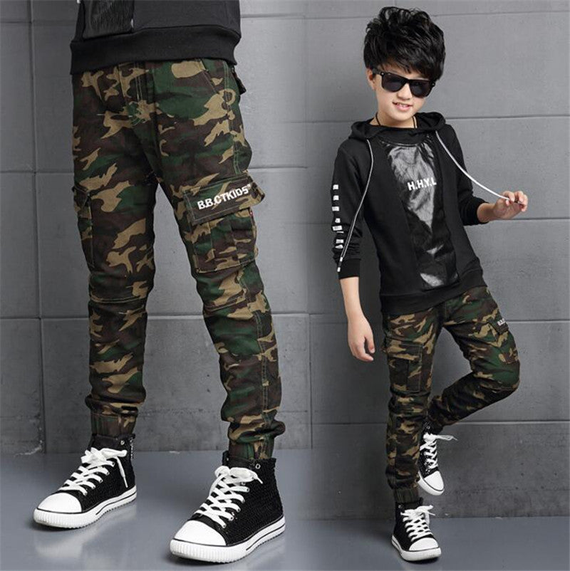 Camouflage Trousers for Boys