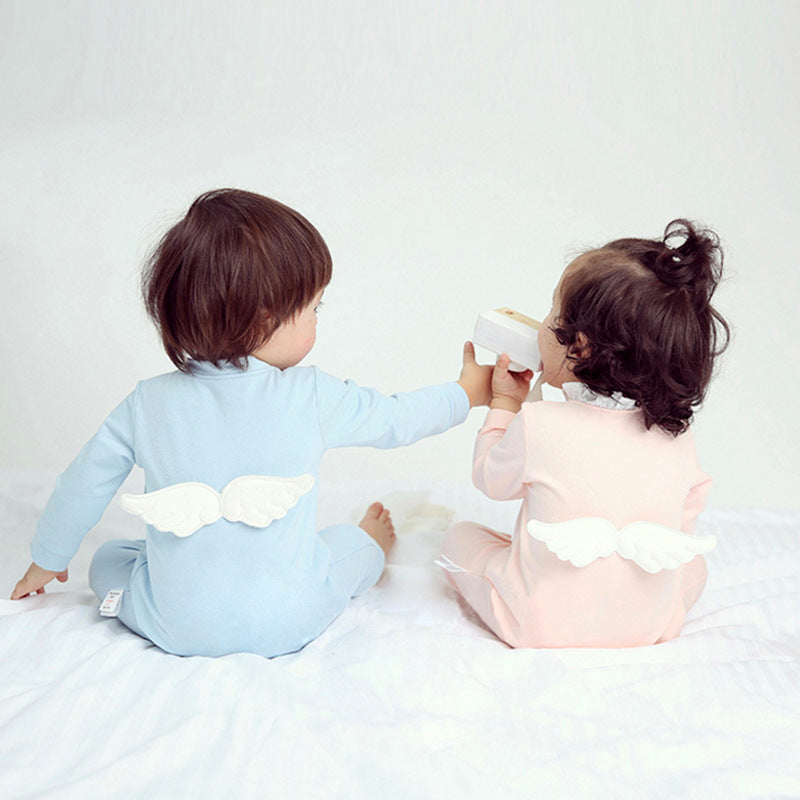 Angel Wings Baby Cotton Jumpsuit