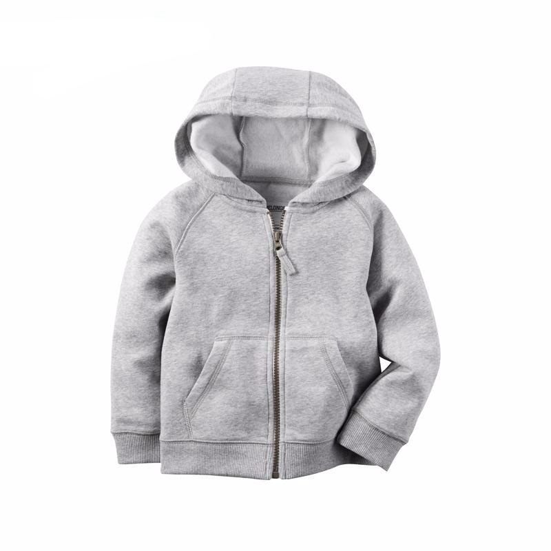 Hoodie with Zipper for Baby Boy