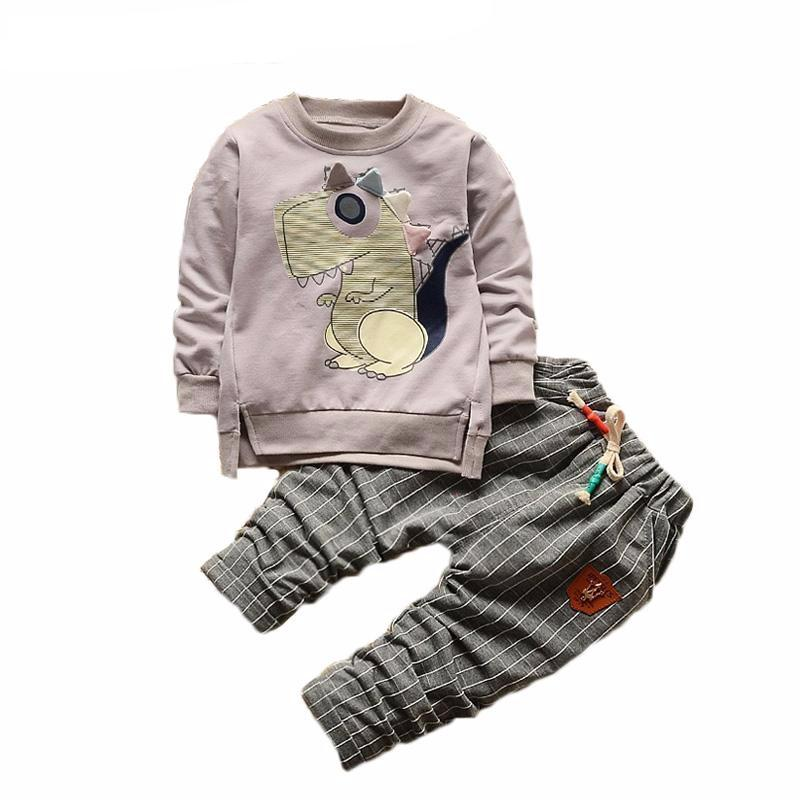 Vintage Dino Outfit Set for Boys or Girls
