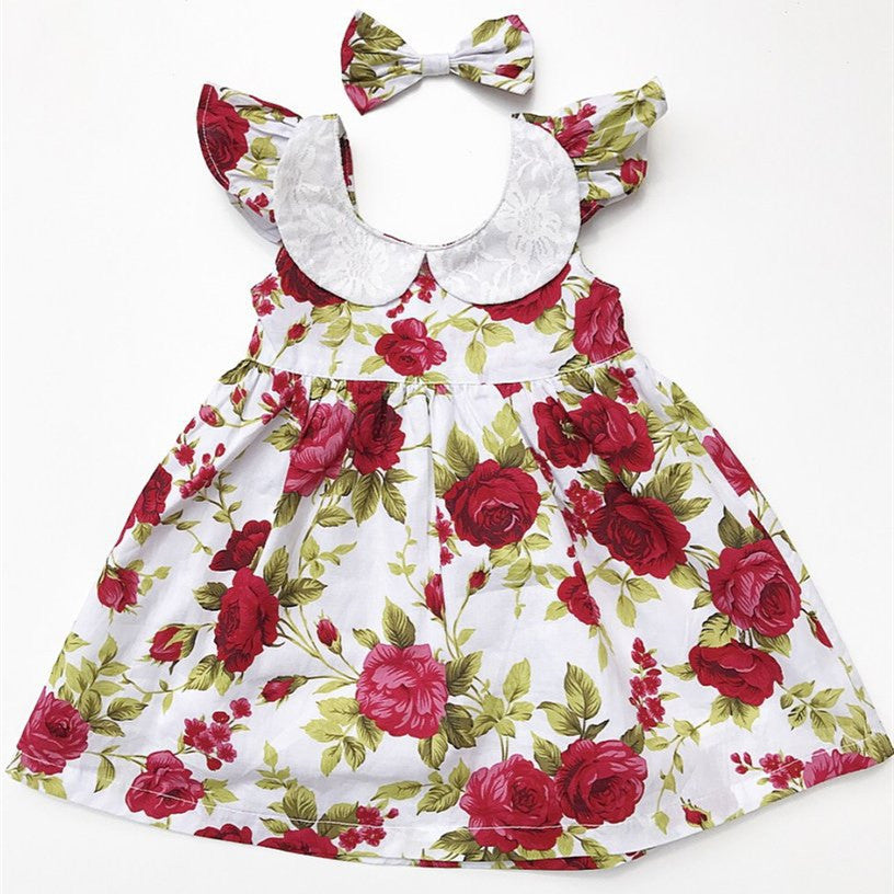 Chubby Chic Dress + Headwear for Baby Girl
