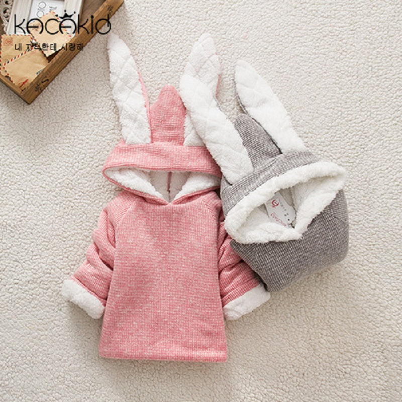 Cute Baby Girl Rabbit Sweatshirt