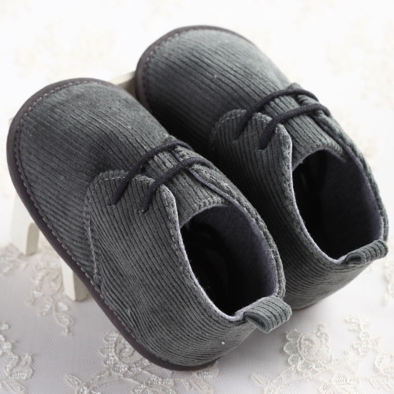 Cotton Pre-walker Mocassins for Baby Boy