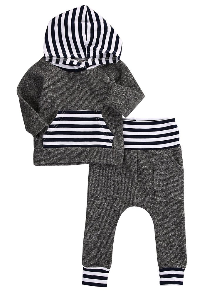 2 Piece Striped Set for Baby Boy