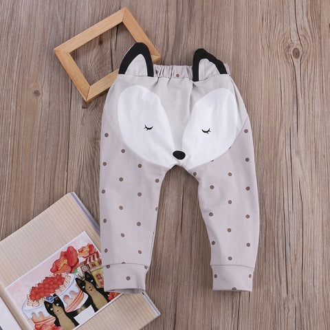 Sweet Unisex Harem Pants for Baby