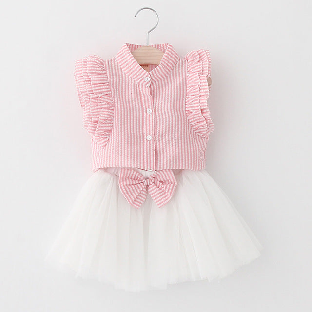 2 Piece Princess Outfit Set for Girl
