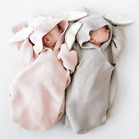 Sweet Bunny Sleeping Bag/Sweater for Baby