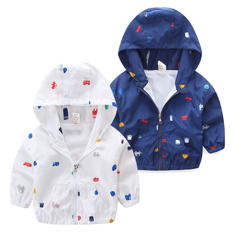 Windbreaker Jacket for Baby Boy