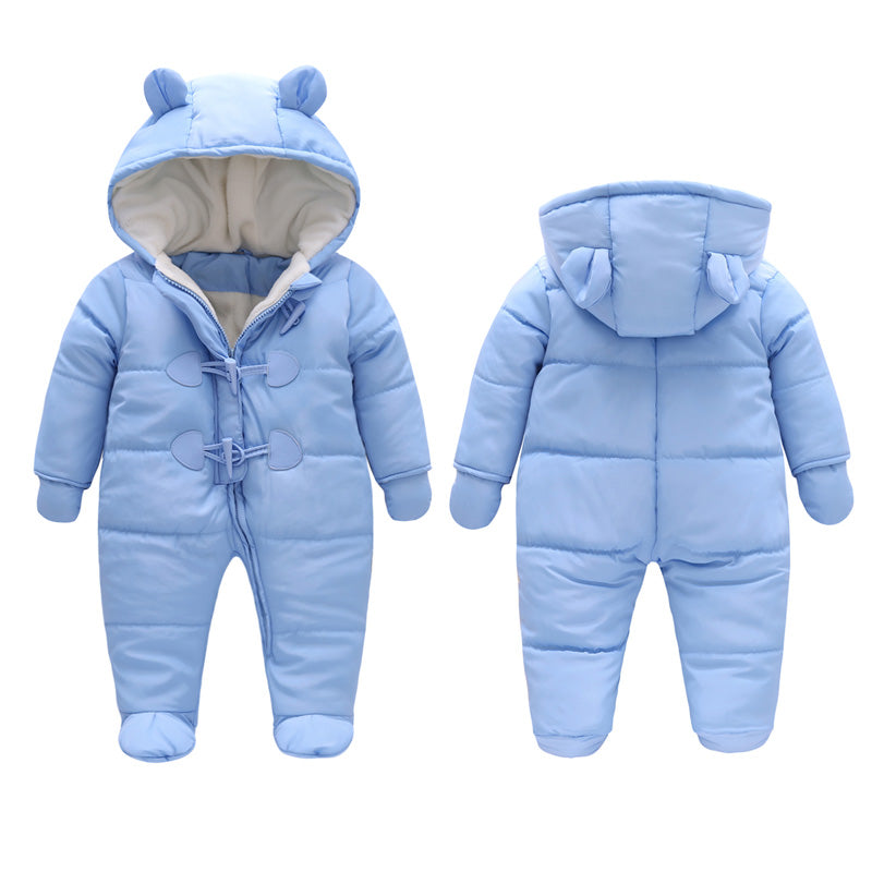 Warm Coverall Snowsuit for Baby Boy or Girl