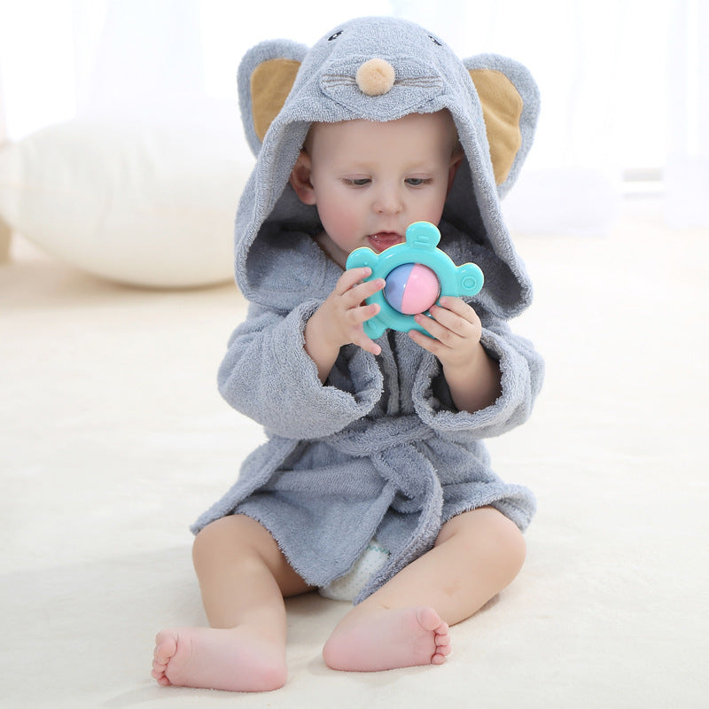 Cute Animal Baby Bathrobe