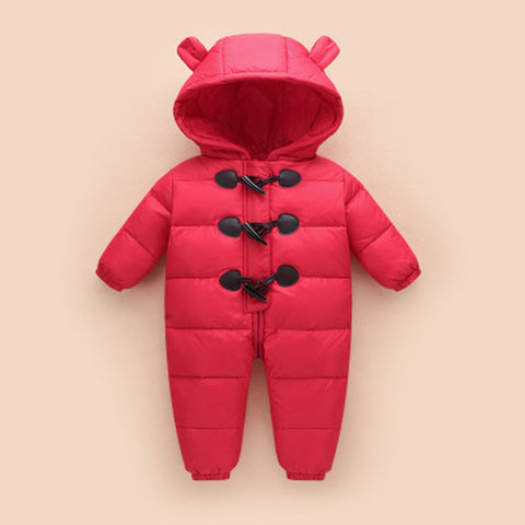 Warm and Cosy Baby Snowsuit