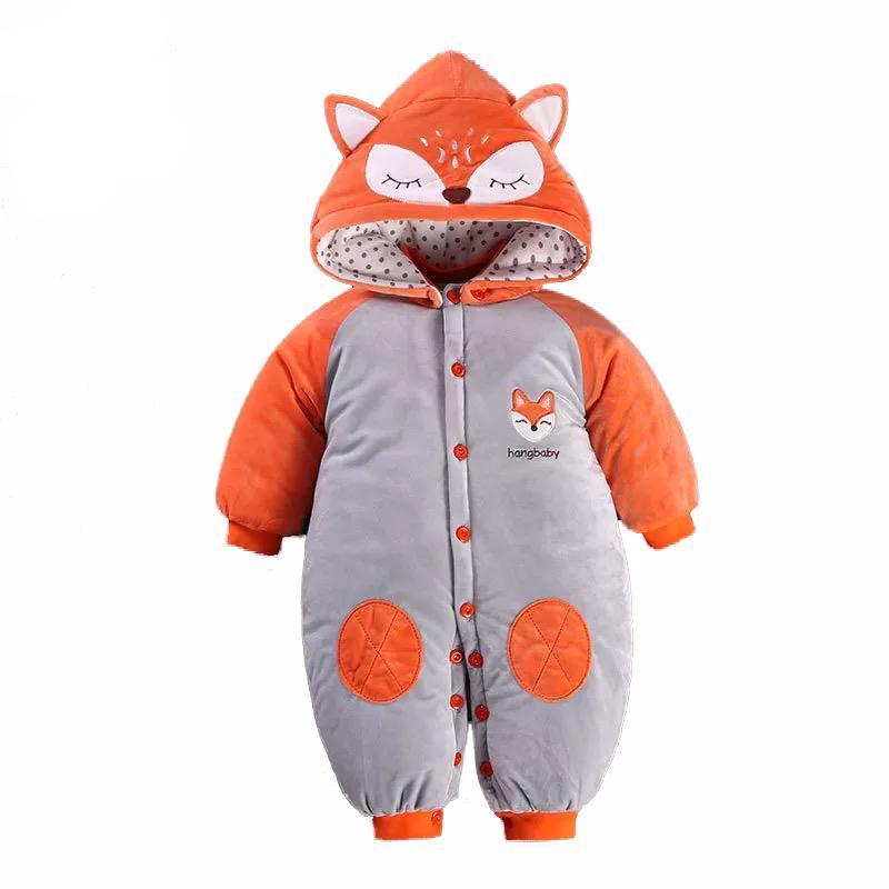 Fox Snowsuit for Baby Boy or Girl