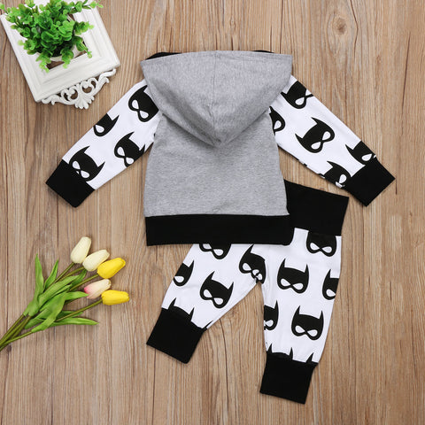 Batman Outfit Set for Baby Boy/Toddler