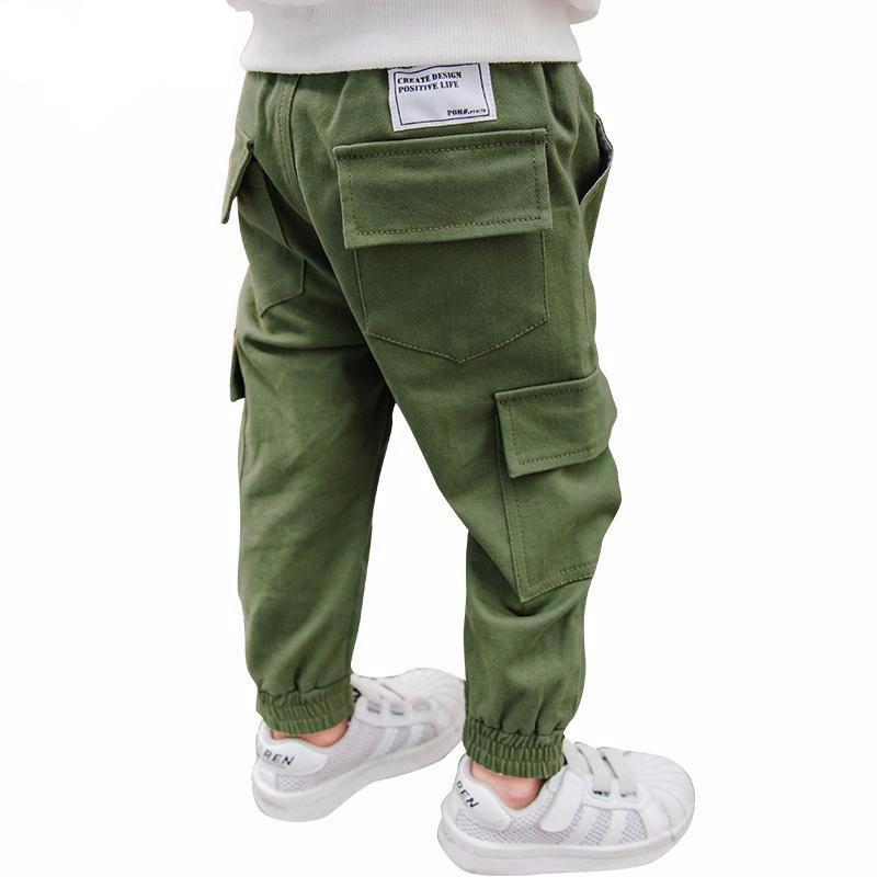 Casual Trousers with Side Pockets for Boys