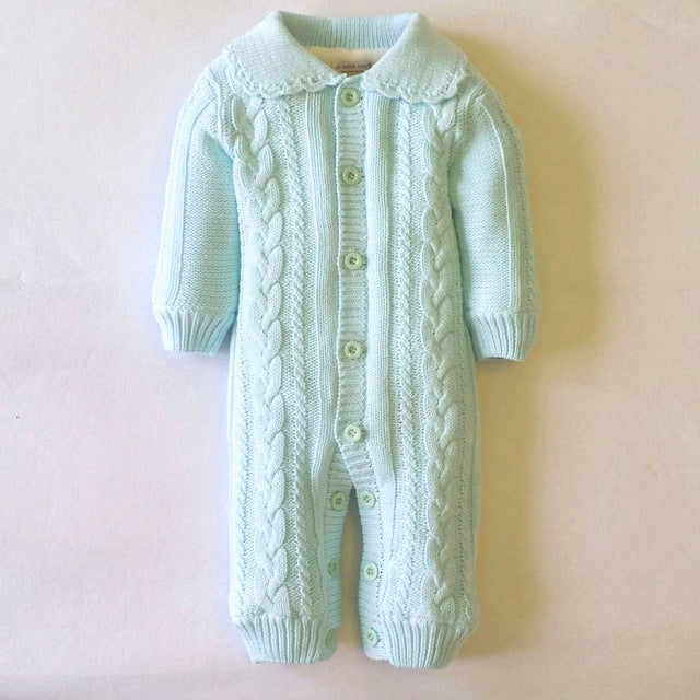 Cotton Knitted Jumpsuit for Baby Boy or Girl