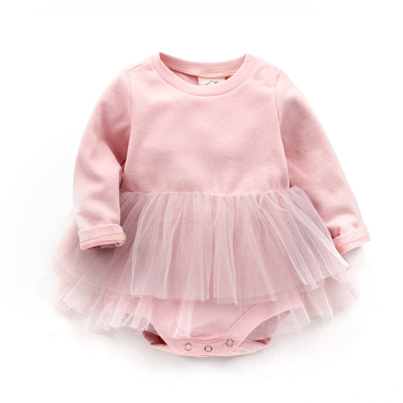 Baby Girl Ballerina Bodysuit Dress
