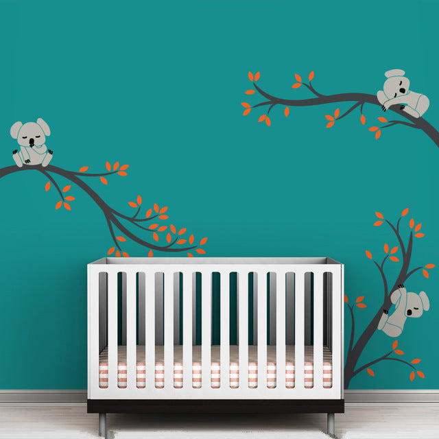 Large size Koala Tree Wall Sticker