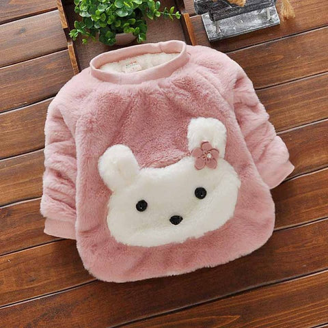 Cutest Furry Sweater for Baby Girl/Toddler