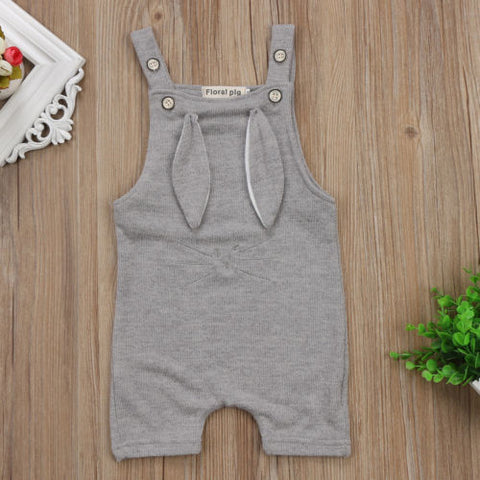 Cute Unisex Bunny Romper for Baby