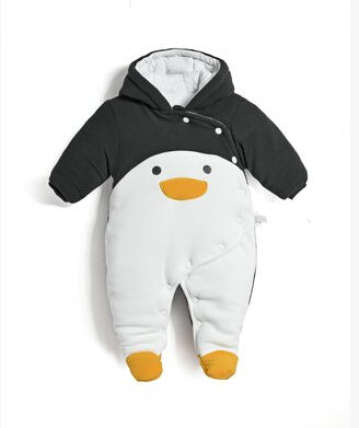 Unisex Warm Outwear Jumpsuit for Baby
