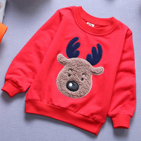 Unisex Reindeer Sweater for Kids