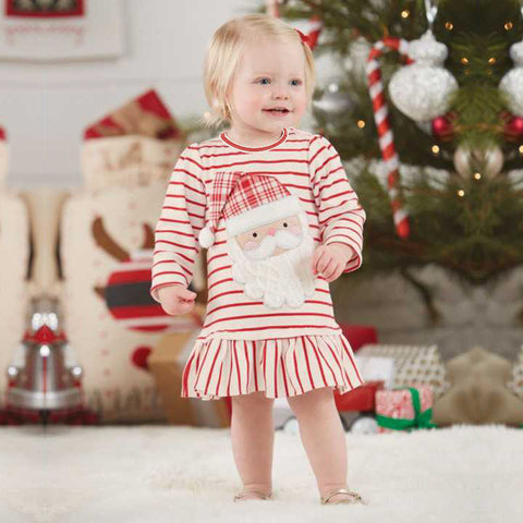 Santa Claus Dress For Baby Girl