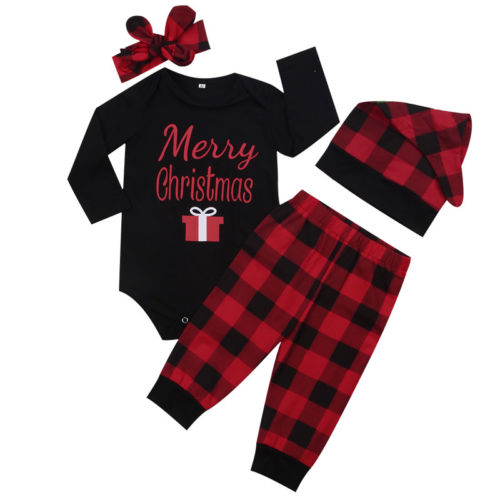 Unisex Christmas Outfit Set for Baby
