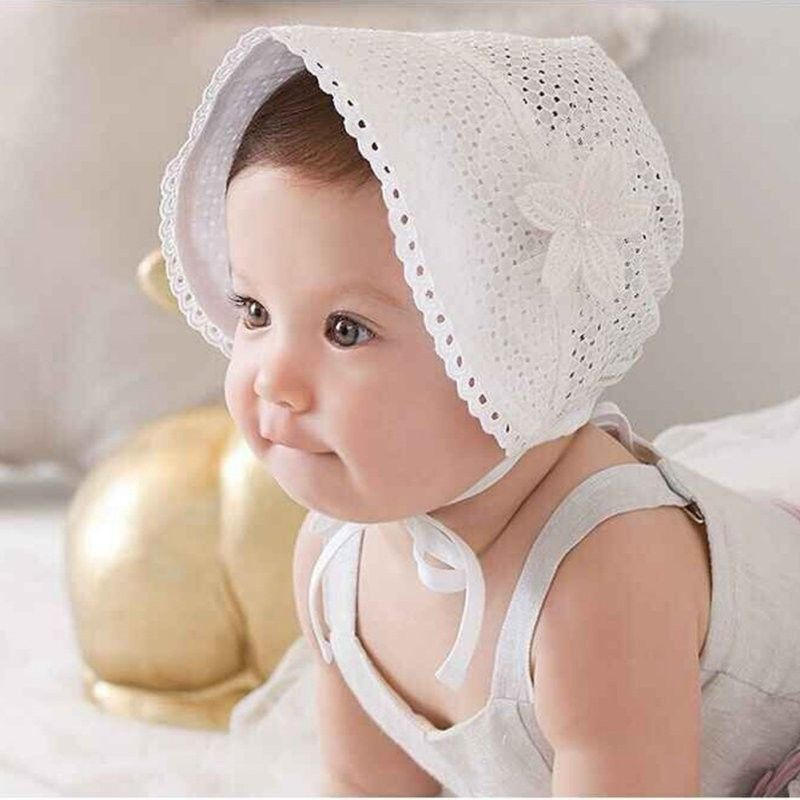 Cute Sun Bonnet for Baby Girl