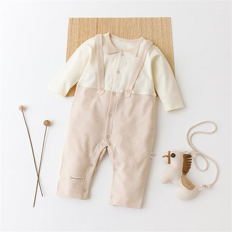 Delicate Organic Cotton Baby Jumpsuit