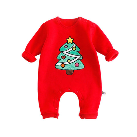 Cute & Comfy Christmas Jumpsuit for Baby Boys or Baby Girls