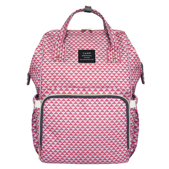 Chic Diaper Bag or Backpack for Mummy