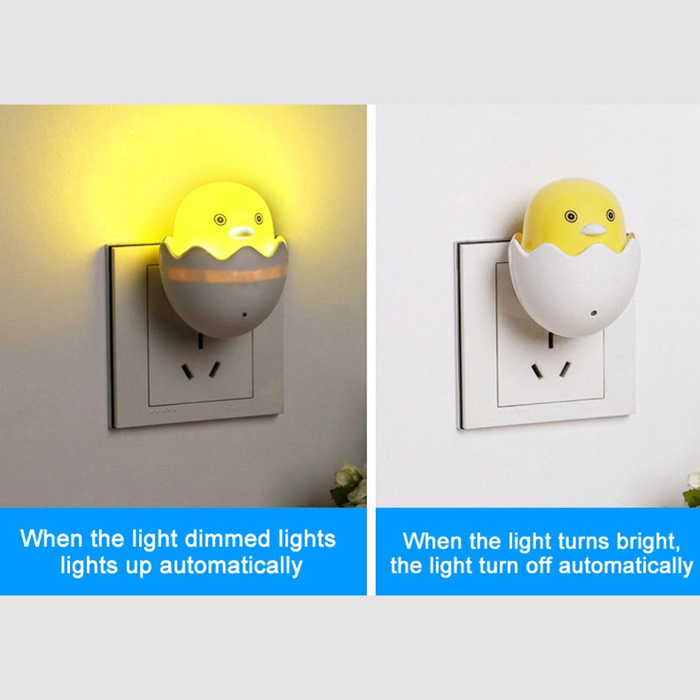 Sweet Yellow Duck LED Night Light