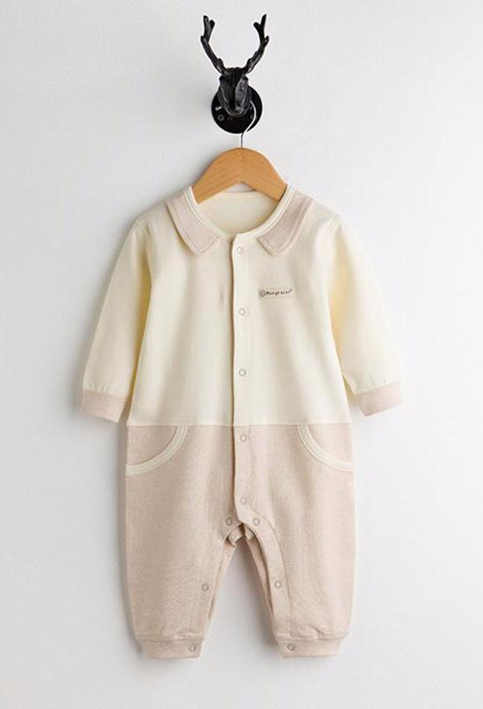 Organic Cotton Jumpsuit for Baby Boy or Girl