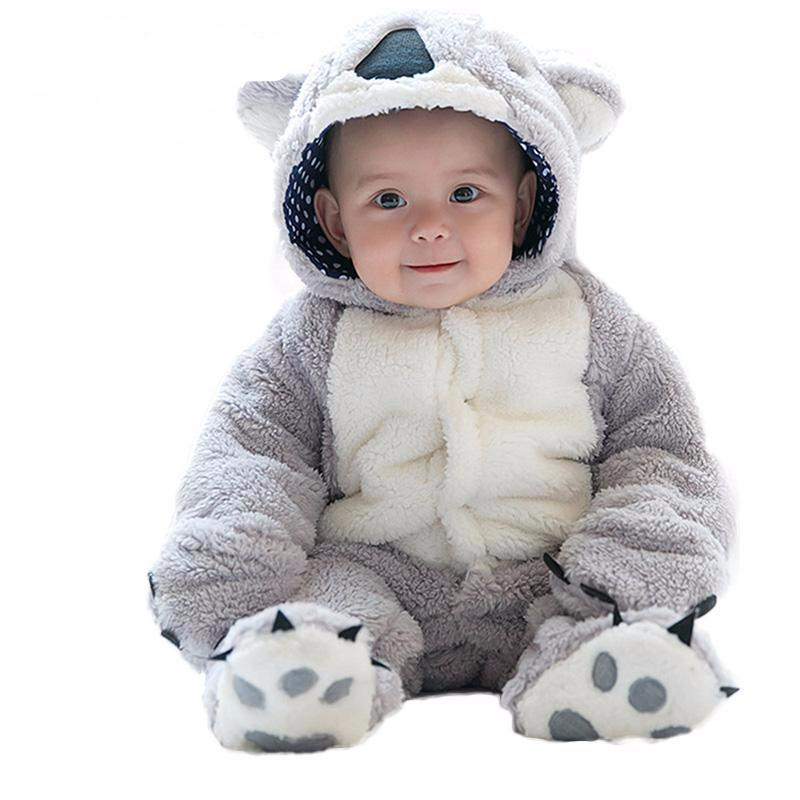 Winter Fleece Jumpsuit for Baby Boy or Girl