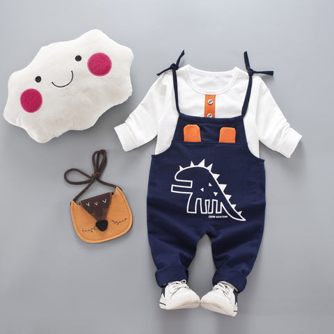 Dinosaur Outfit Set for Baby Boy or Girl