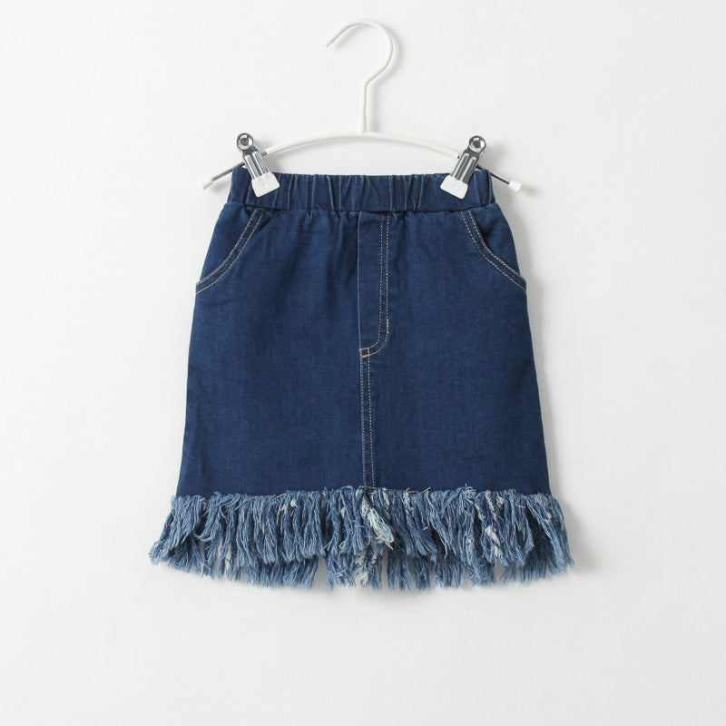 Denim Stylish Skirt for Girl