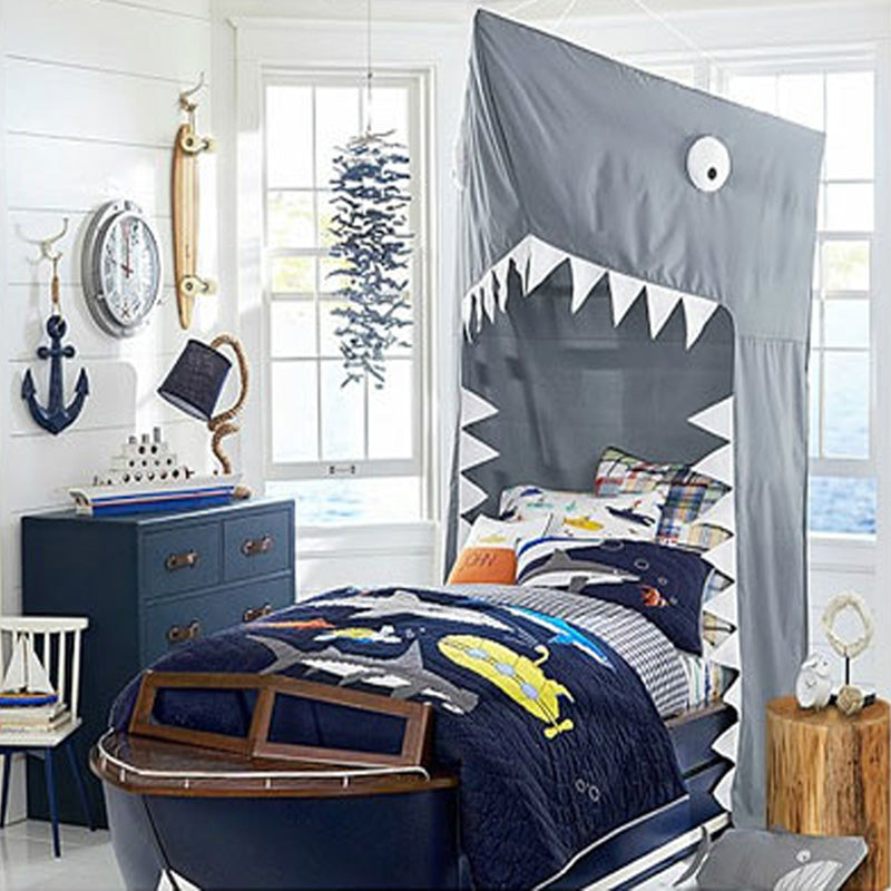Shark Bed Curtain