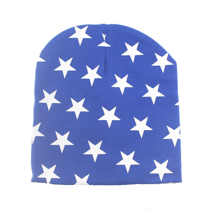 Cotton Cap with Stars for Baby