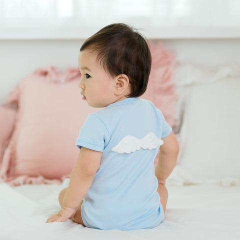 Baby Summer Rompers with Wings 100% Tiny Cotton